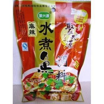 Q023W Ju Xing Brand - Mala Spicy Base For Fish 200g - 40 bags/CTN - New Eastland Pty Ltd - Asian food wholesalers