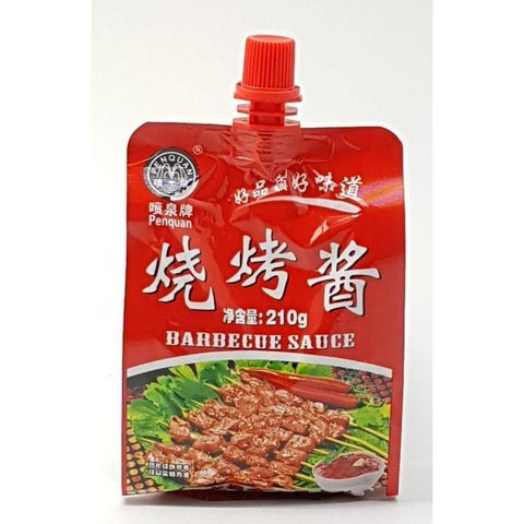 Q028DB TBD Brand - Barbecue Sauce 210g - 24 bags/CTN - New Eastland Pty Ltd - Asian food wholesalers