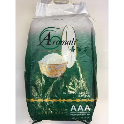 R002M Aromali Brand- Premium grade AAA Thai Jasmine Rice 10kg - 1 bag - New Eastland Pty Ltd - Asian food wholesalers
