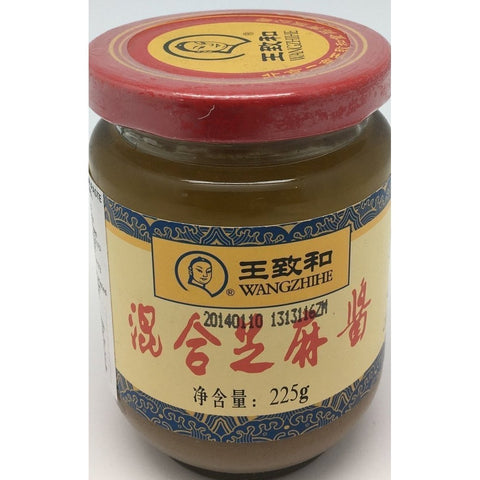 S015S Wang Zhi He Brand - Mix Seasame Paste 225g -  30 jar / 1CTN - New Eastland Pty Ltd - Asian food wholesalers