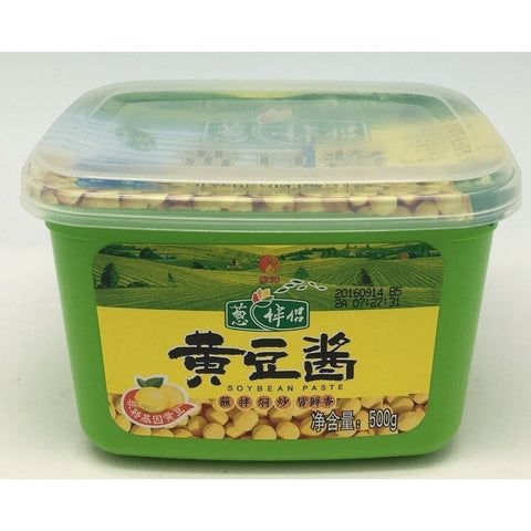 S025YL Shin Ho Brand - Ground Soy Bean Paste 500g -  12 box / 1CTN - New Eastland Pty Ltd - Asian food wholesalers