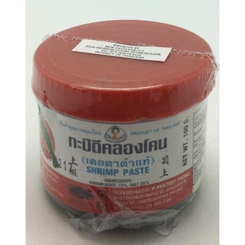 S032M P.Prateepthong Brand - Shrimp Paste 227g -  24 box / 1CTN - New Eastland Pty Ltd - Asian food wholesalers