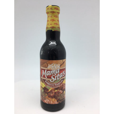 S049SS Mama Sitas Brand - Barbecue Marinade Sauce 350ml -  24 bot / 1CTN - New Eastland Pty Ltd - Asian food wholesalers