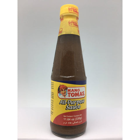 S057 Mang Tomas Brand - All Purpose Sauce 330g -  24 bot / 1CTN - New Eastland Pty Ltd - Asian food wholesalers