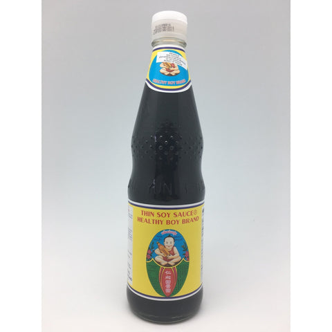 S072Y Healthy Boy Brand- Thin Soy Sauce 700ml -  12 bot / 1ctn - New Eastland Pty Ltd - Asian food wholesalers