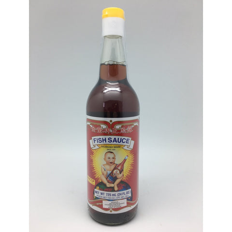 S105 Golden Boy Brand - Fish Sauce 740ml - 12 bot / 1CTN - New Eastland Pty Ltd - Asian food wholesalers