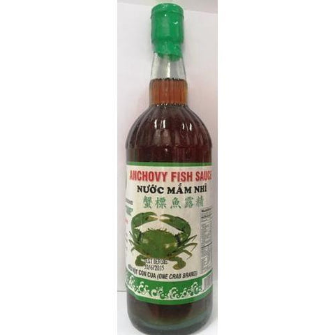 S106 One Crab Brand - Anchovy Fish Sauce 750ml -  12 bot / 1ctn - New Eastland Pty Ltd - Asian food wholesalers