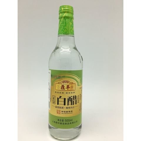 S112T Shanghai Dingfeng Brand - White Vinegar 500ml - 12 bot / 1CTN - New Eastland Pty Ltd - Asian food wholesalers