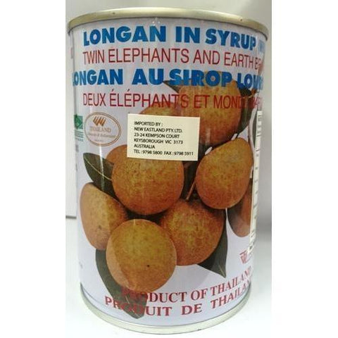 T012W TBD Brand -Logan in Syrup 565g - 12 tin / 1 CTN - New Eastland Pty Ltd - Asian food wholesalers