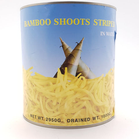 T035 (L) BAMBOO SHOOT STRIPPED 2.9k - 6 tin/CTN - New Eastland Pty Ltd - Asian food wholesalers