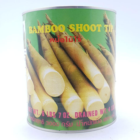 T039K (L) Bamboo Shoot Tip 2.9k - 6 tin/CTN - New Eastland Pty Ltd - Asian food wholesalers