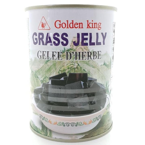 T049 Golden King Brand -Grass Jelly 540g- 12 tin / 1 CTN - New Eastland Pty Ltd - Asian food wholesalers