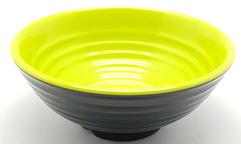 TB2005/6/8/85/9 - Japanese Green and Black Plastic Bowl 5-9 Inches - New Eastland Pty Ltd - Asian food wholesalers