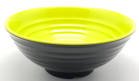TB2020 - Japanese Green and Black Plastic Bowl ~ 7 Inches - TBD Pieces  / 1 Box - New Eastland Pty Ltd - Asian food wholesalers