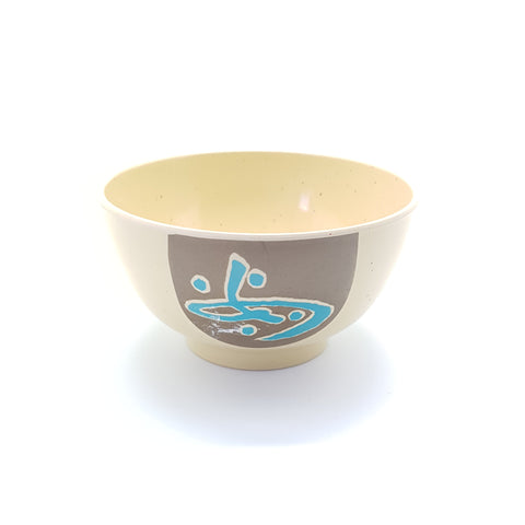 TB3306 - Brown Plastic Medium Round Bowl~ 5 Inches - 12 Pieces  / 1 Box - New Eastland Pty Ltd - Asian food wholesalers