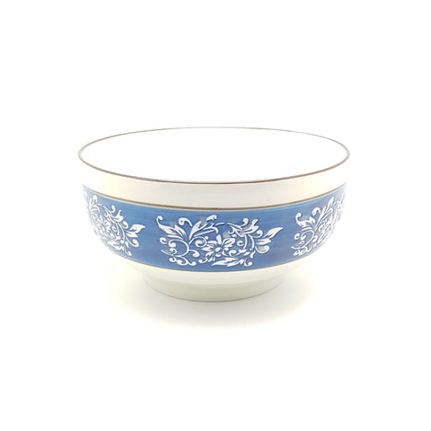 TBBTC004 - Blue Thorns Ceramic Bowl ~ 7 Inches - TBD Pieces  / 1 Box - New Eastland Pty Ltd - Asian food wholesalers