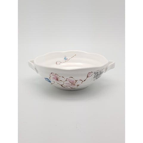 TBCPC002 - Chinese Pink and Blue Flower Bowl - New Eastland Pty Ltd - Asian food wholesalers