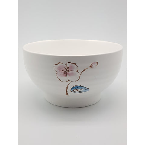 TBCPC005 - Chinese Pink and Blue Flower Ceramic Bowl ~6.5 inches - TBD Pieces / 1 Box - New Eastland Pty Ltd - Asian food wholesalers