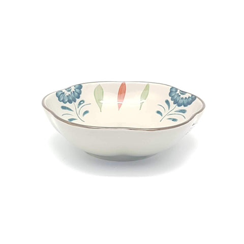 TBGCB208 - Green Ceramics with Blue Flower Plate - 8 Inches - New Eastland Pty Ltd - Asian food wholesalers