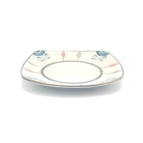 TBGCB209 - Green Ceramics with Blue Flower Plate - 9 Inches - New Eastland Pty Ltd - Asian food wholesalers