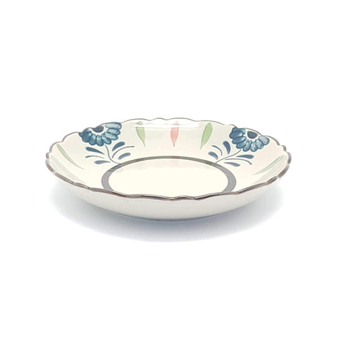 TBGCB210 - Green Ceramics with Blue Flower Plate - 9 Inches - New Eastland Pty Ltd - Asian food wholesalers
