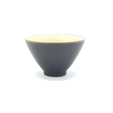 TBJ04.5 -  Ceramic Green Leaf Narrow Bowl ~ 4.75 INCHES - 12 pcs  / 1 Box - New Eastland Pty Ltd - Asian food wholesalers