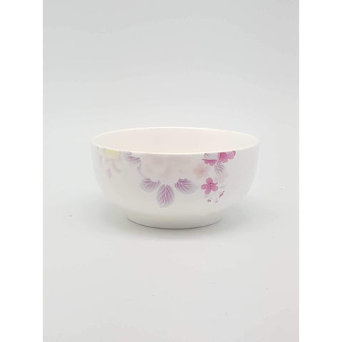 TBO04K/05K/06K/07K/08K -  Pink Rose Ceramic Bowl 4.5 - 8 Inches - New Eastland Pty Ltd - Asian food wholesalers