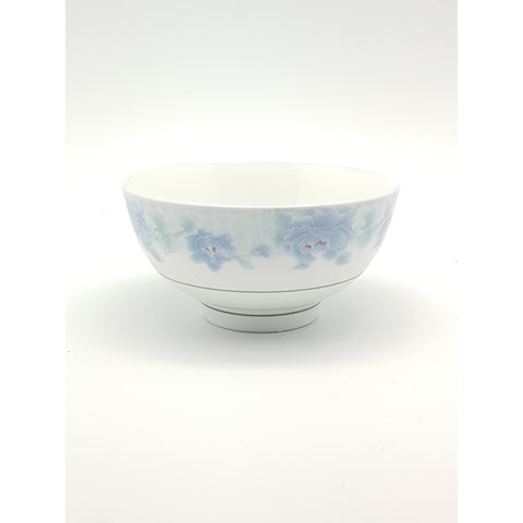 TBP130(B) - Chinese Blue Flower Ceramic Rice Bowl ~5 inches - 12 Pieces / 1 Box - New Eastland Pty Ltd - Asian food wholesalers