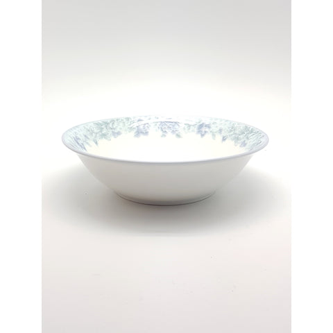 TBP17(B) - Chinese Blue Flower Ceramic Round Bowl ~7 inches - 6 Pieces  / 1 Box - New Eastland Pty Ltd - Asian food wholesalers