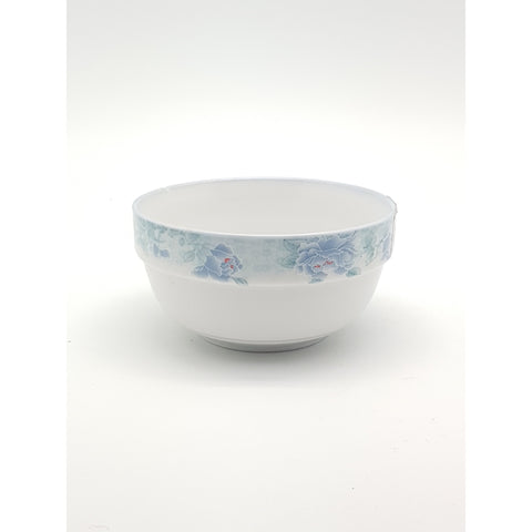 TBP45(B)/05(B)/06(B)/07(B)/08(B) - Chinese Blue Flower Ceramic Bowl 4 - 8 inches - New Eastland Pty Ltd - Asian food wholesalers