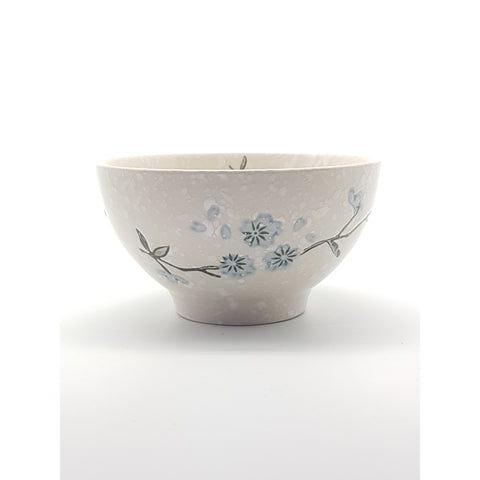 TBS04Y/05Y/06Y -  White snow with Blue flowers Bowl 4.5 - 6 Inches - New Eastland Pty Ltd - Asian food wholesalers