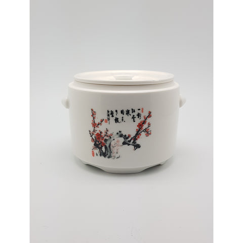 TBSCP001(N-4734) -  Soup ceramic Pot Large 6.5 Inches - New Eastland Pty Ltd - Asian food wholesalers