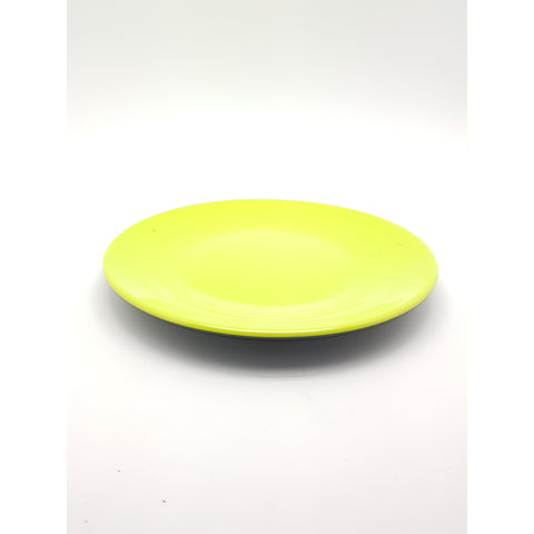 TP3210 - Japanese Green and Black Plastic Plate ~ 9.5 Inches - 6 Pieces  / 1 Box - New Eastland Pty Ltd - Asian food wholesalers