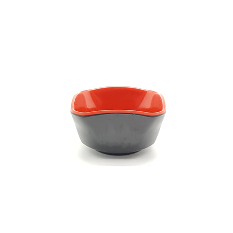 TP9295- Japanese Red and Black Plastic Side Dish Bowl~3 Inches - 60 Pieces  / 1 Box - New Eastland Pty Ltd - Asian food wholesalers