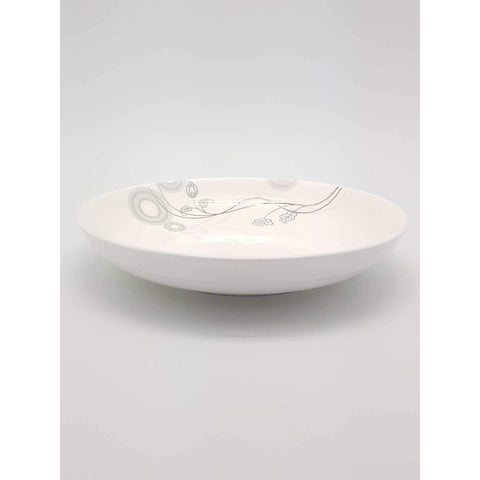 TPM07O/08O -  Silver Vines Plate 7 - 8 Inches - New Eastland Pty Ltd - Asian food wholesalers