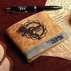 Detective Conan PU leather wallet