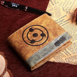 Sharingan PU leather wallet