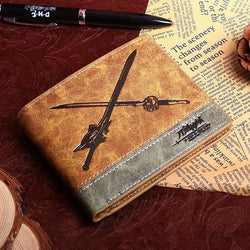 Sword Art Online PU leather wallet