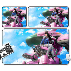 Overwatch DV.A mouse pad
