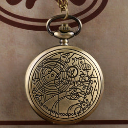 Doctor Who Bronze Pocket Watch