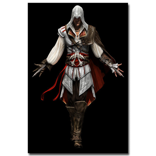 Assassin's Creed Silk Fabric Poster Print