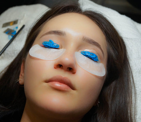 Blue Setting lotion - lash lift