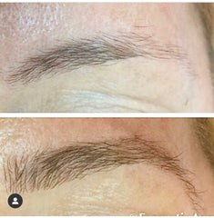 brow before after lashx brow extensions 3