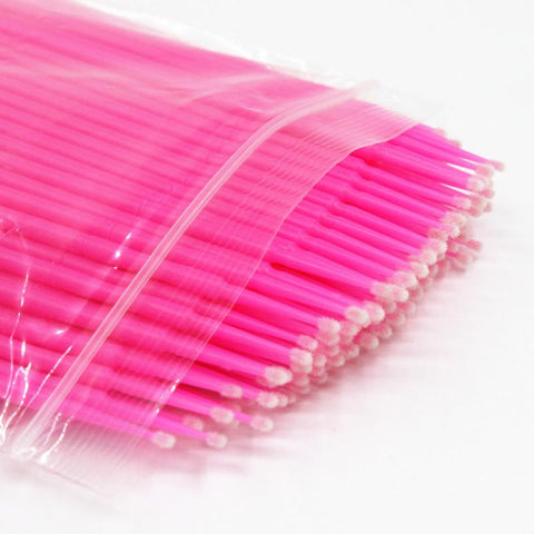 Pink Microswabs - lashx.pro Healthier Professional lash extension products