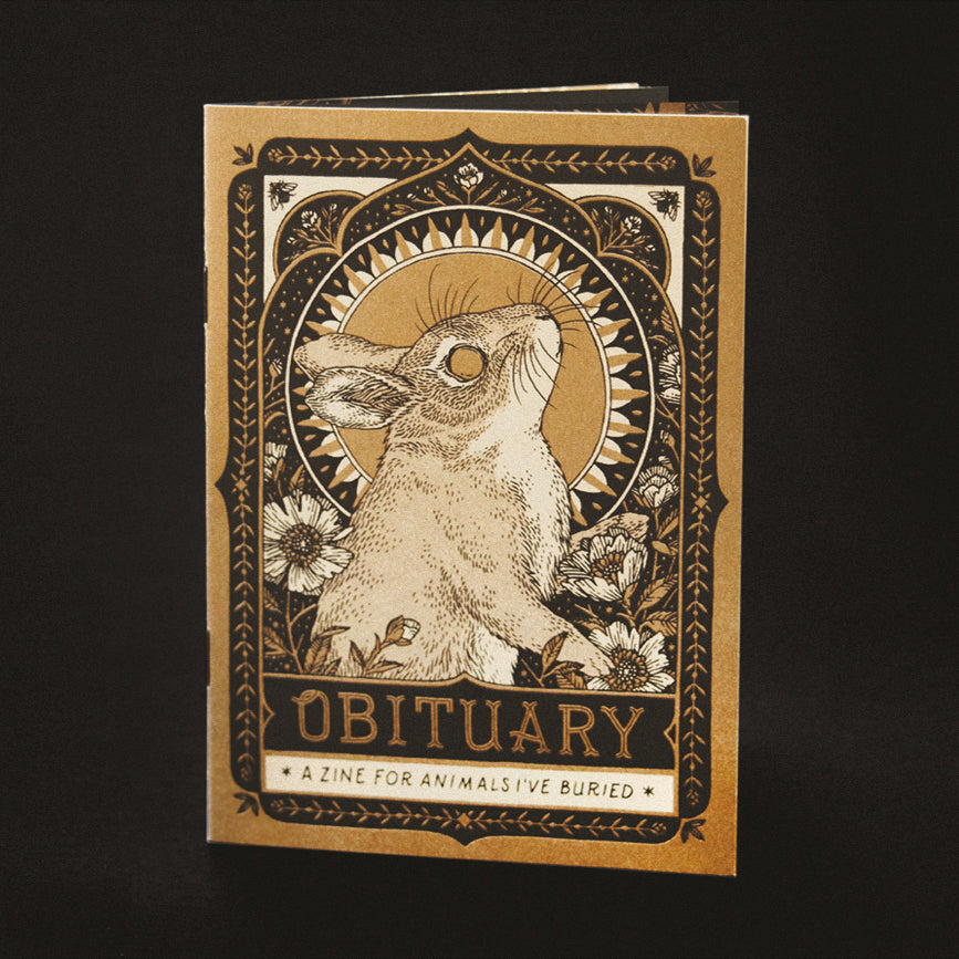 Obituary: A Zine for Animals I've Buried