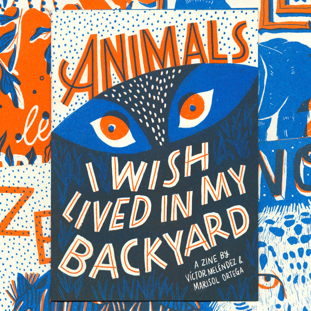 Animals zine riso