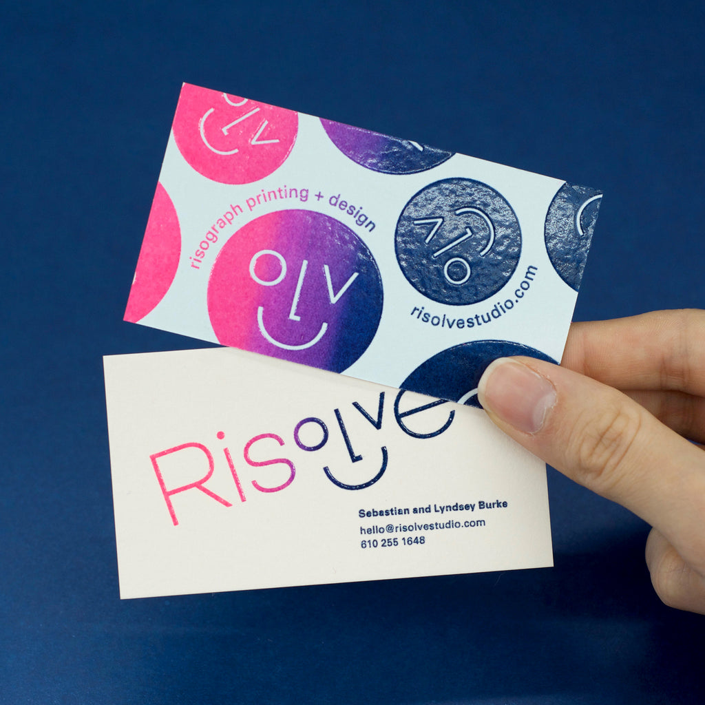 Risolve business cards