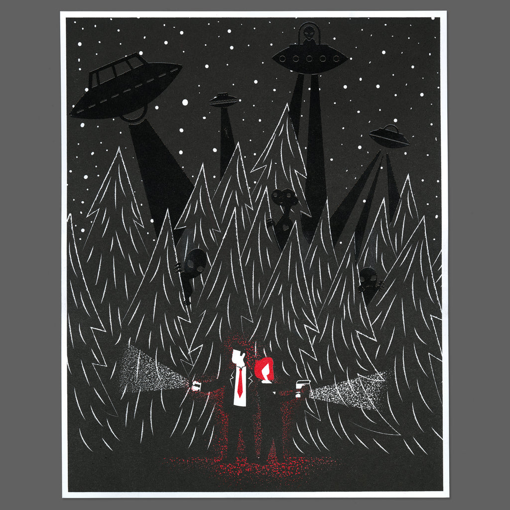 James Olstein X-files print