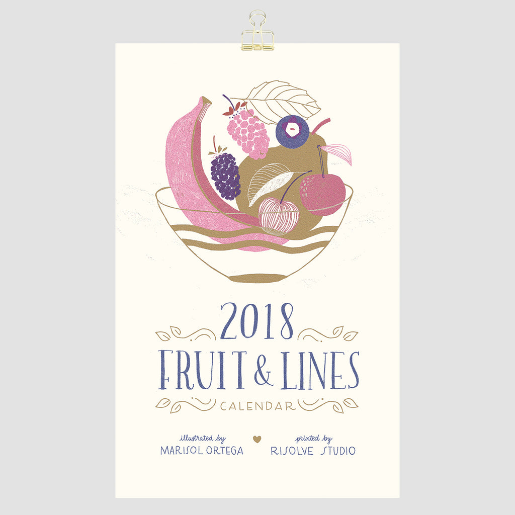 Fruit & Lines cover