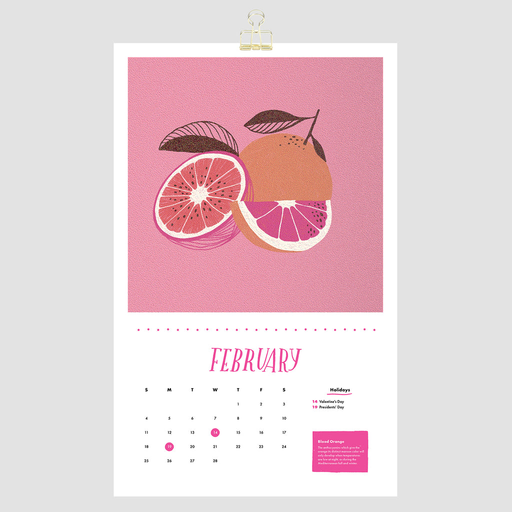 February blood orange